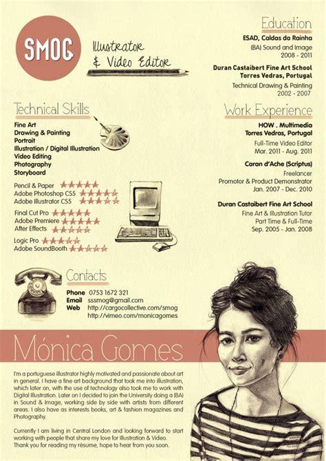 Contoh Resume Graphic Designer by 21 ไอเด ยโดนๆ ก บ การเข ยน Resume และ Cv ท จะทำให โดดเด น และน าอ าน