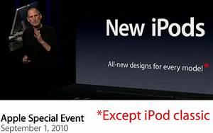 Happy 10th Birthday  Ipod Classic  Now It U0026 39 S Time To Die