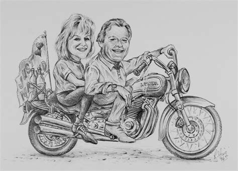 Ron Greig Canadian Artist, Creator Of Quality Caricatures