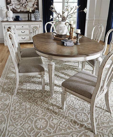 realyn oval dining room set  signature design  ashley
