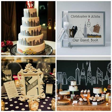 news  york themed wedding styling  moodboard
