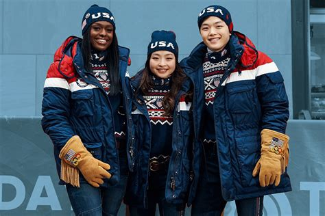 Ralph Lauren Unveils Team USAu0026#39;s 2018 Olympic Uniforms Shop | Most Wanted