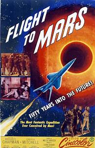 Flight To Mars, 1951, Poster Art Photograph by Everett