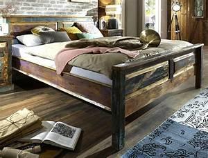 Doppelbett Mit Stauraum 180x200 : massivholzbett delhi 180x200 altholz massiv bunt doppelbett used look wohnbereiche schlafzimmer ~ Bigdaddyawards.com Haus und Dekorationen