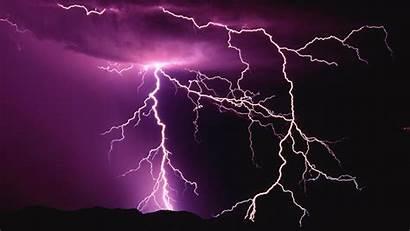 Lightning Storm Wallpapers Purple Pixelstalk