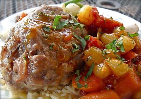braised lamb shanks pressure cooker recipe recipe foodcom
