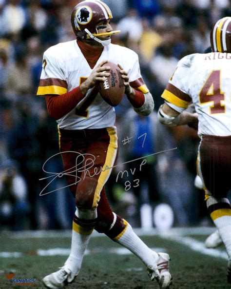 redskins washington joe theismann quarterback players jim football everett namath discover