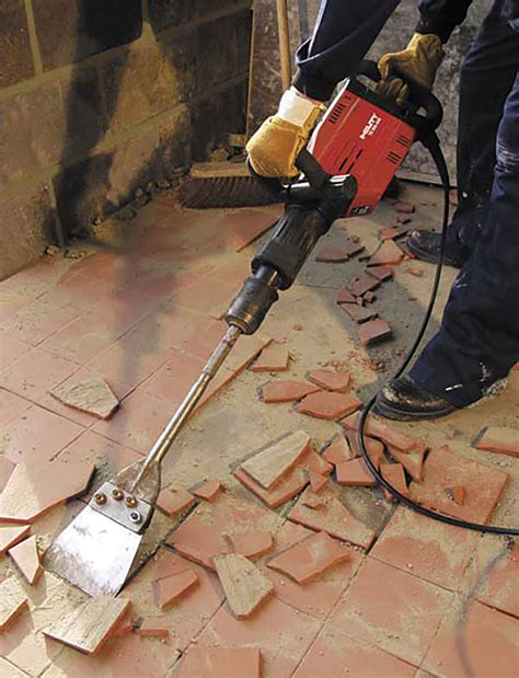 removing tile floor tile removal set the hire xperts