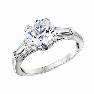 classic engagement ring settings With wedding ring settings