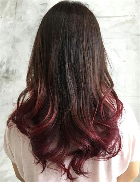 Dip Dye Farbe by 40 Ideas For Black Ombre Hair Ombre Black Hair