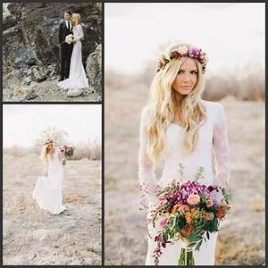 2016 sheath bohemian style lace long sleeves wedding With bohemian beach style wedding dresses