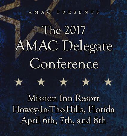 amac conference 2017 delegate conference amac the association of