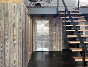 Shou Sugi Ban : seattle fire station shou sugi ban resawn timber co ~ Zukunftsfamilie.com Idées de Décoration
