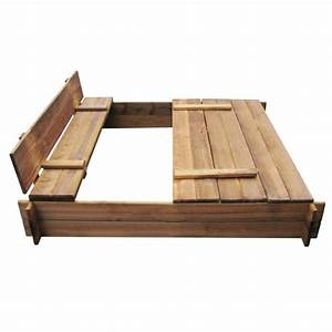 Bac à Sable Bois : la boutique en ligne bac sable carr en bois impr gn ~ Premium-room.com Idées de Décoration