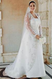 plus size wedding dress with jacket naf dresses With plus size jacket dress for wedding