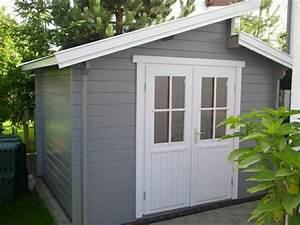 Gartenhaus Grau Modern : gartenhaus in grau und wei gartenhaus spielhaus garten gartenhaus und garten ~ Buech-reservation.com Haus und Dekorationen
