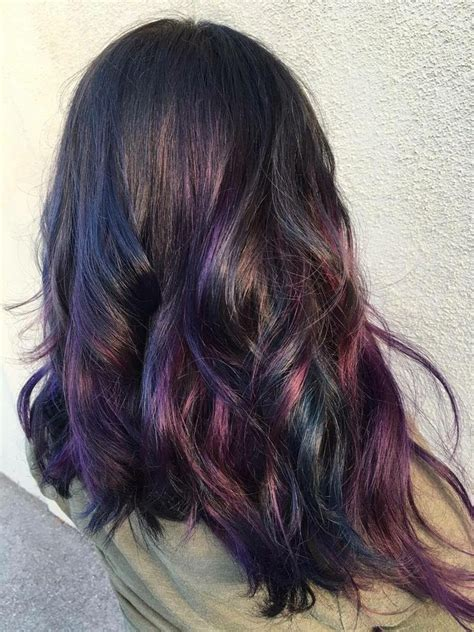 25 Best Ideas About Oil Slick Hair Color On Pinterest