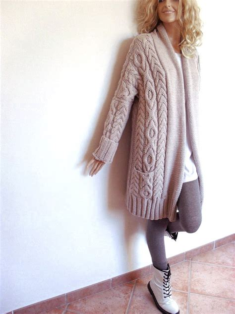cable cardigan sweater 39 s cable knit sweater knitted merino wool cardigan