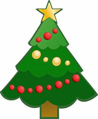 Christmas Clipart Tree Presents Clip Trees Simple