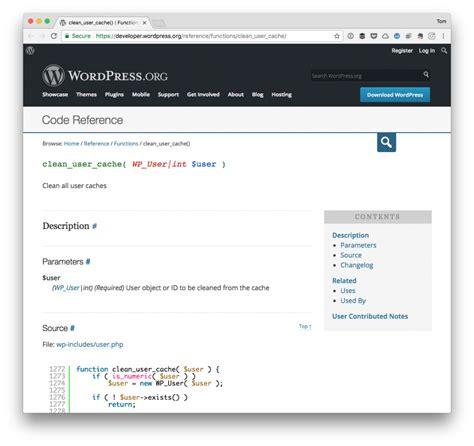 wordpress user caches tom mcfarlin