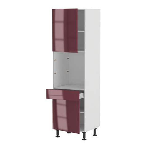 colonne four cuisine meuble cuisine colonne four 60 200 4 1 porte 1 achat