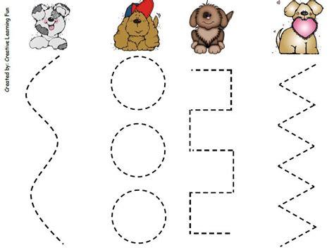 prewriting skills puppy visual impairments 3 year old