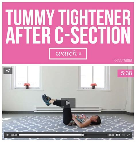 ab exercises post c section tummy tightener after c section chang e