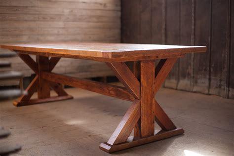 farm tables reclaimed wood farm table woodworking