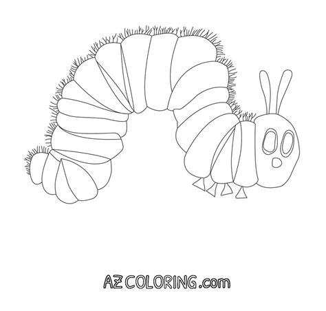 hungry caterpillar coloring pages hungry caterpillar coloring pages az coloring pages
