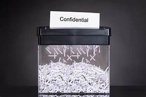 paper shredding security levels shred nations With shredding documents on site