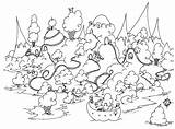 Coloring Island Pages Guinea Pig Colouring Rhode Grassland Printable Ice Cream Bison Penguin Sheets Print Pigs Seuss Dr Penguins Adult sketch template