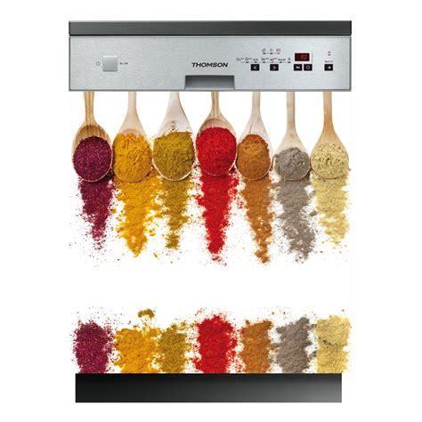 la cuisine des epices stickers lave vaisselle épices pas cher