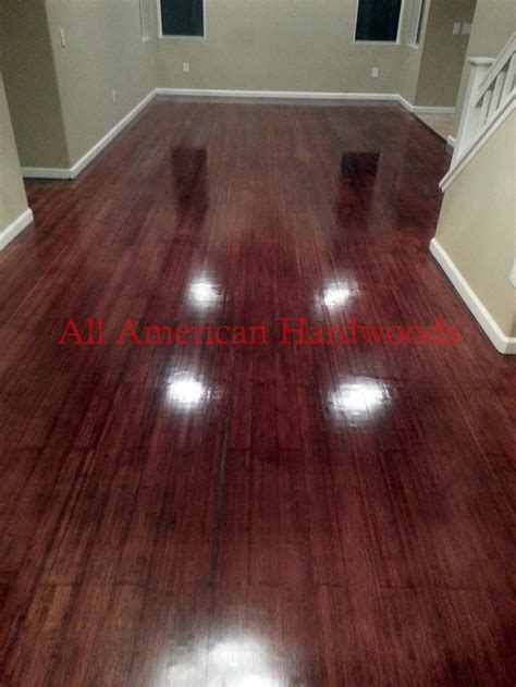 Dust Free Wood Floor Restoration in San Diego 858 699 0072