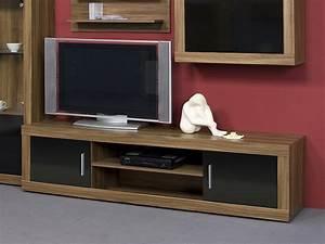Tv Möbel Nussbaum : lowboard nussbaum schwarz ~ Indierocktalk.com Haus und Dekorationen