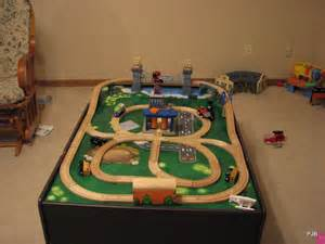 thomas train table layout plans woodworking class