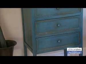 peinture quotmeubles de provencequot les decoratives sur www With peinture bois pour meuble