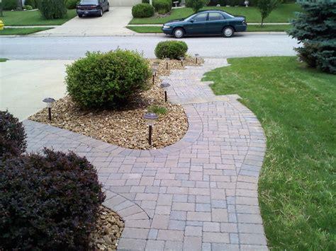 Paver Brick Wall by Segmental Wall Brick Paver Triscape Inc
