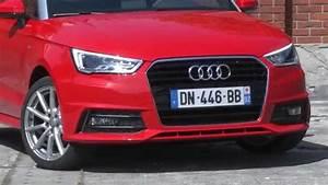Essai Audi A1 : essai audi a1 1 4 tfsi 125ch s line youtube ~ Medecine-chirurgie-esthetiques.com Avis de Voitures