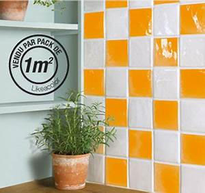 adhesif pour carrelage cuisine salle de bain With carrelage adhesif salle de bain avec meuble cuisine led