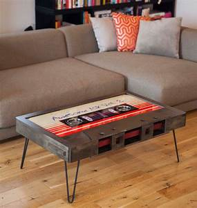 quirky cassette tape coffee tables add a touch of With quirky coffee tables