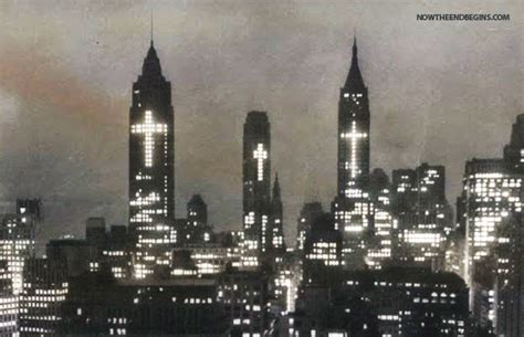 3 crosses in 1956 lower manhattan easter photograph show