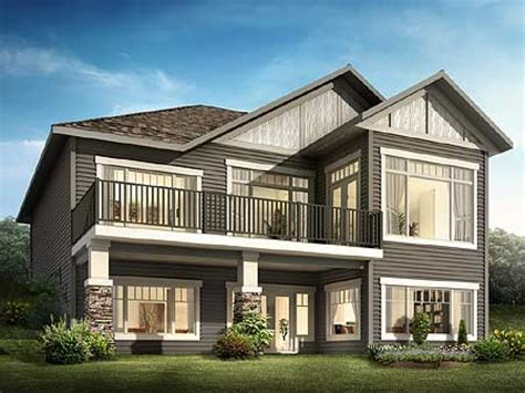 house plans for sloped lots sloping lot house plans