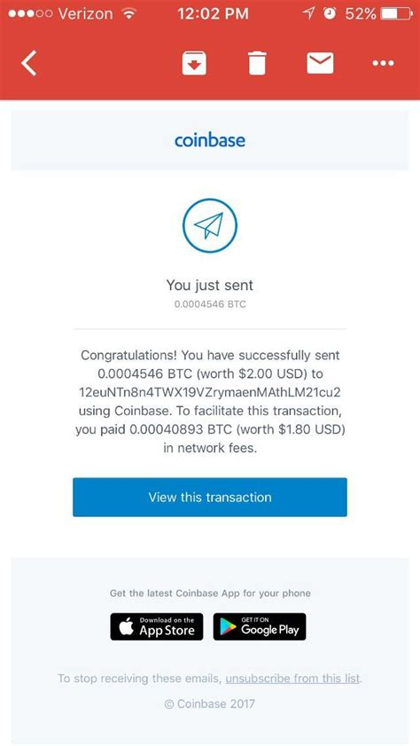 Learn exactly how to buy bitcoin on coinbase quickly and securely with this step by step guide. Did anyone get an e-mail from coinbase saying they just send $2.00 worth of Bitcoin, when they ...