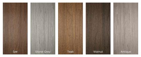 composite colors newtechwood ultrashield composite decking
