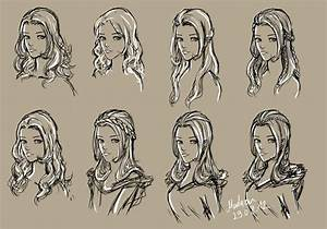 hairstyles by Madazu on DeviantArt