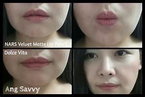 NARS Velvet Matte Lip Pencil in Dolce Vita – Ang Savvy