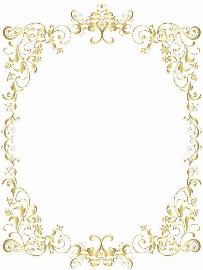 Crown Clipart Frame Invitation Border Clip Decorative