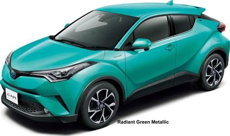 Toyota Colors by New Toyota C Hr Hybrid Colors Photo Exterior Chr