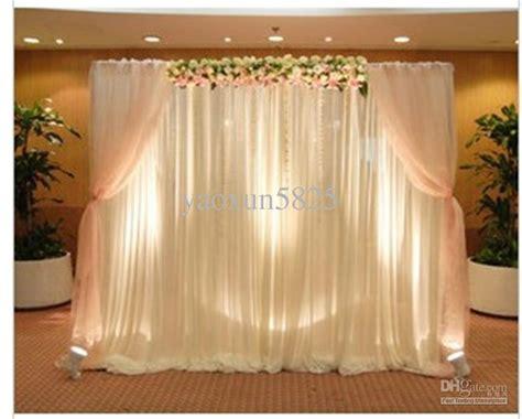 sale white color wedding backdrop drape curtain for
