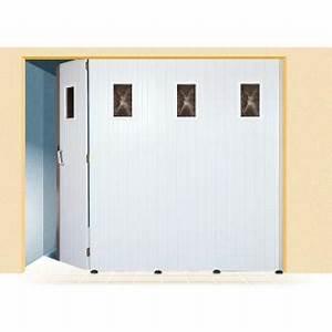 porte de garage et panneau cloture pvc porte d entree With porte de garage et porte d intérieur pvc